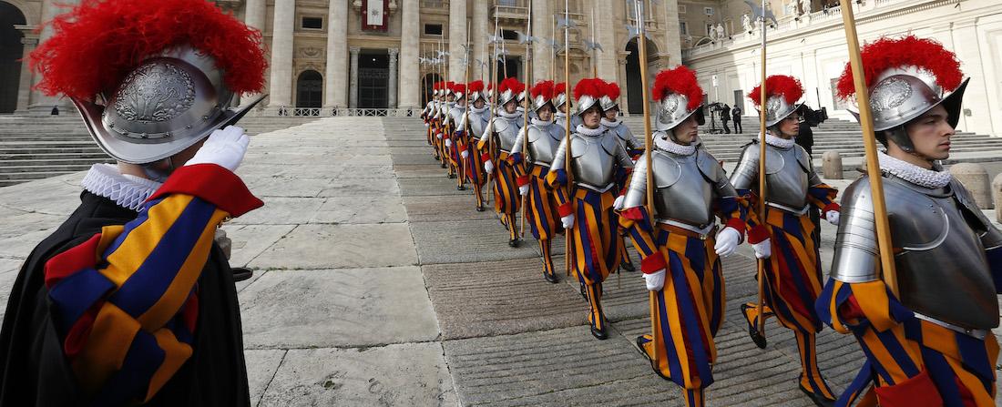 Švýcarská garda ve Vatikánu