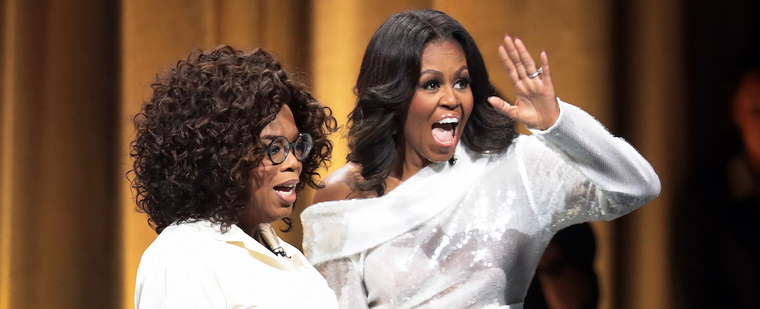 Oprah Winfrey a Michelle Obama