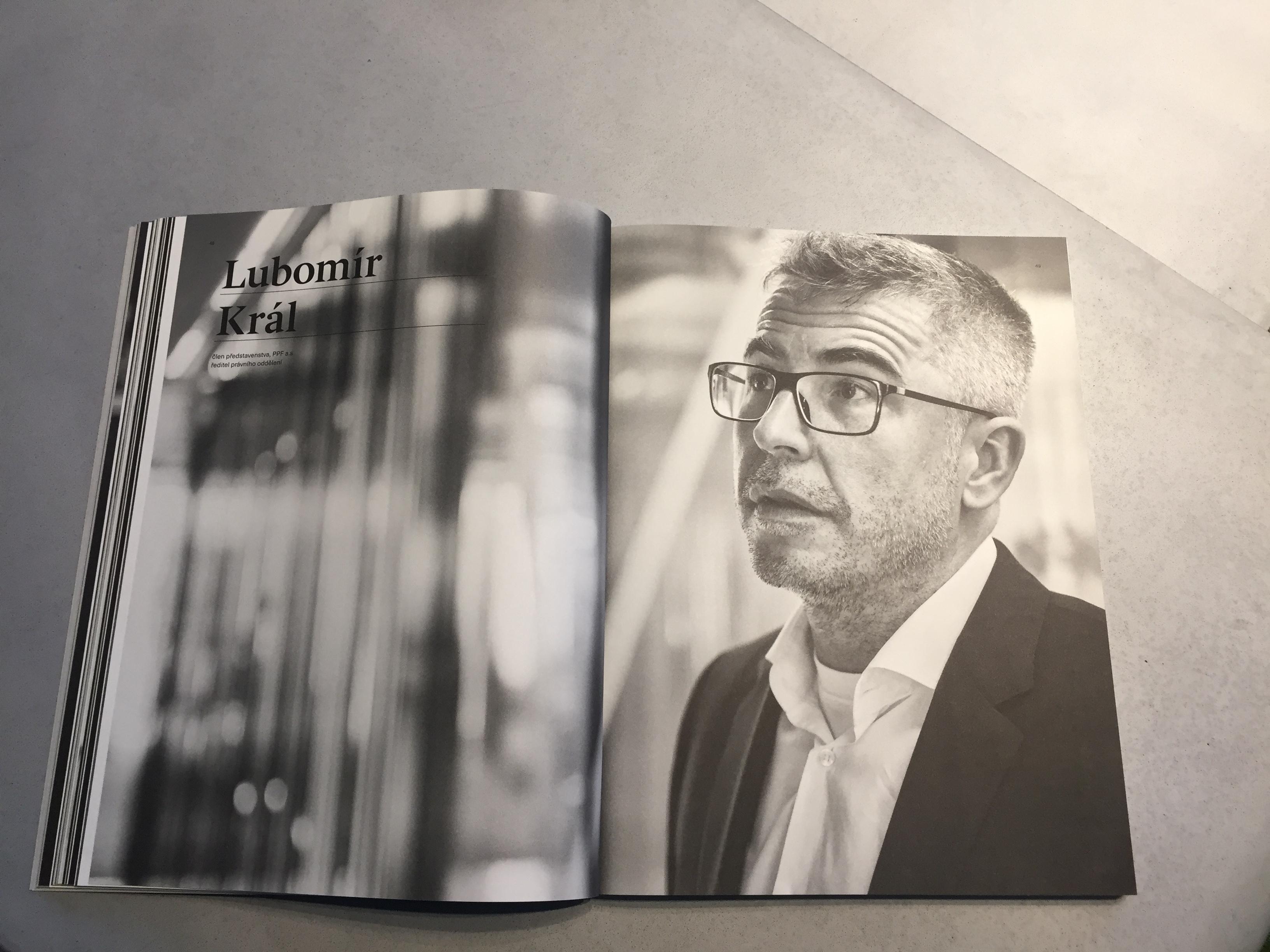 Lubomír Král ve výroční zprávě PPF 2018