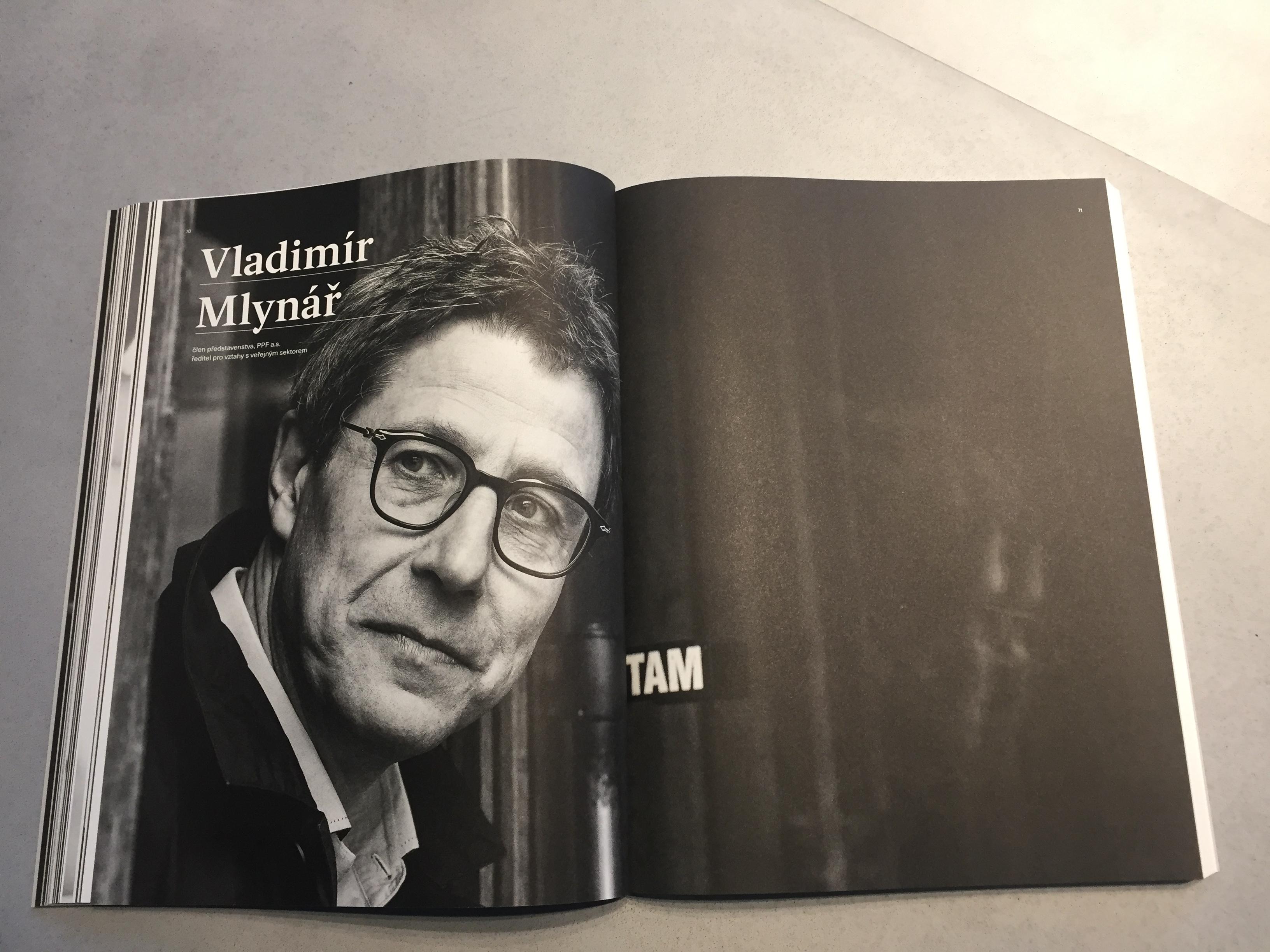 Vladimír Mlynář ve výroční zprávě PPF 2018
